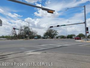 Intersection Light Plant and Aztec Blvd