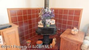 WOOD STOVE / LIVING ROOM