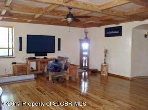 another view of living room w TV