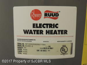 64 - Water  Heater