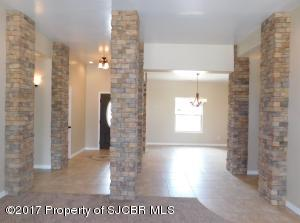 Foyer and Formal Living-Dining