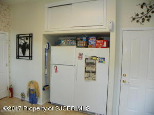 Mud room extra room for frig and freezer