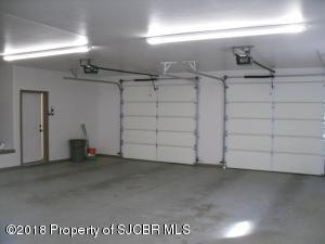 Double doors garage