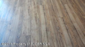 new wood floor dinning
