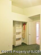 Closet and shelves in Bedroom 3
