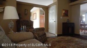 den through entrance to living area