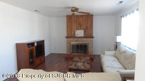 living area / fire place