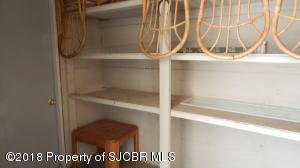 storage room off sun room / porch