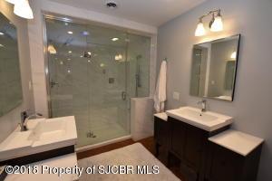 Steam Shower-Double Sinks