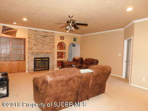 Family with recessed lighting