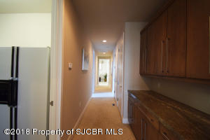 Hallway leading to Guest