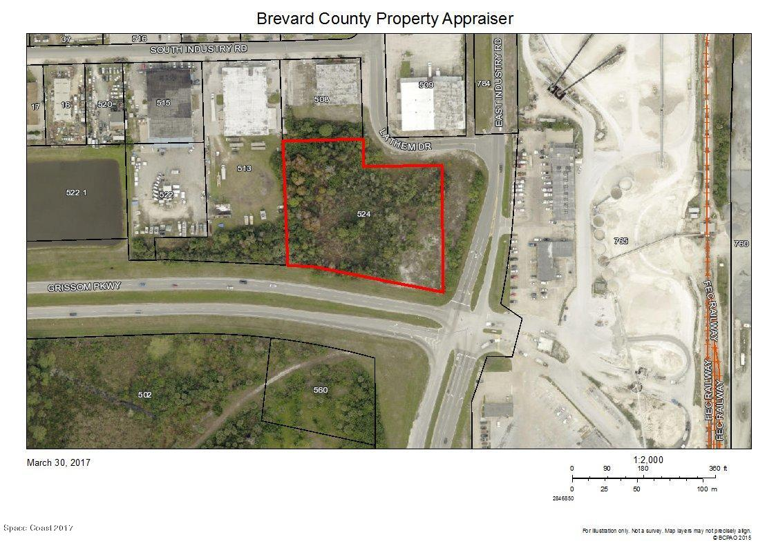 Land for Sale at Industry/Grissom Road Cocoa, Florida 32926 United States