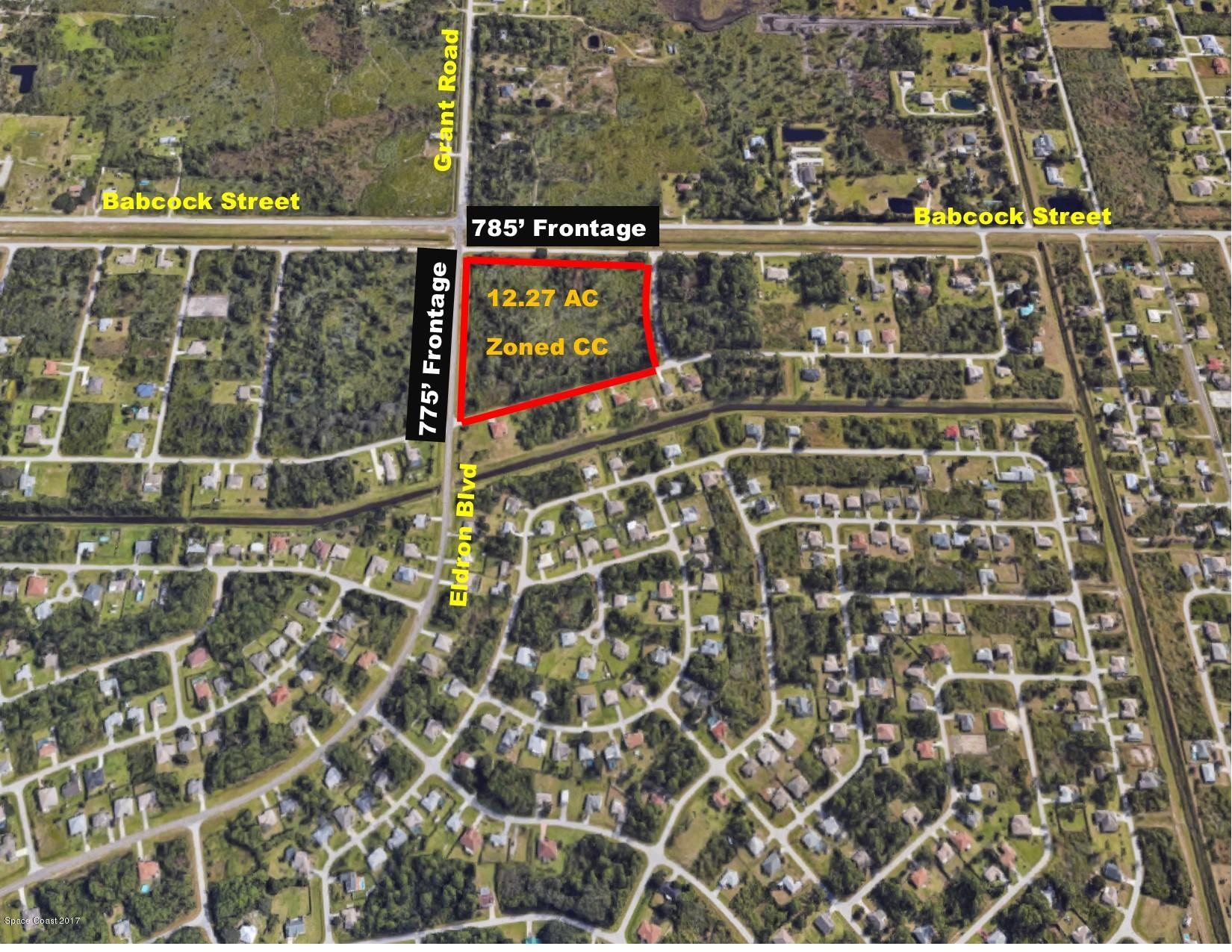 Land for Sale at 1655 Dewey Palm Bay, Florida 32909 United States