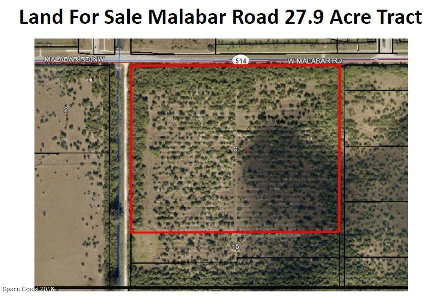 Land for Sale at Malabar Palm Bay, Florida 32907 United States