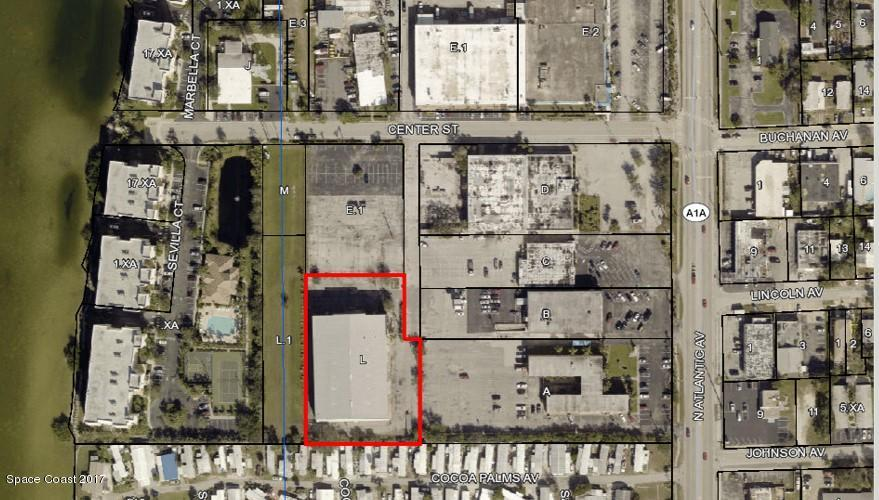 Commercial for Sale at 191 Center Street Cape Canaveral, Florida 32920 United States