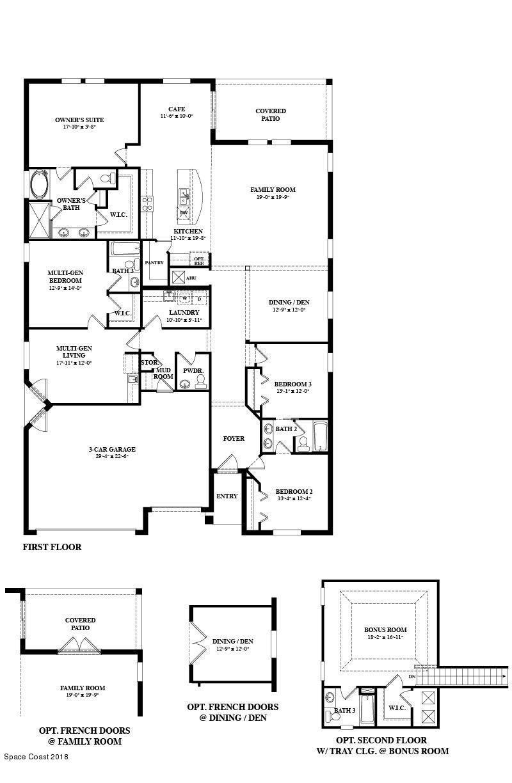 獨棟家庭住宅 為 出售 在 3265 Salt Marsh 3265 Salt Marsh West Melbourne, 佛羅里達州 32904 美國