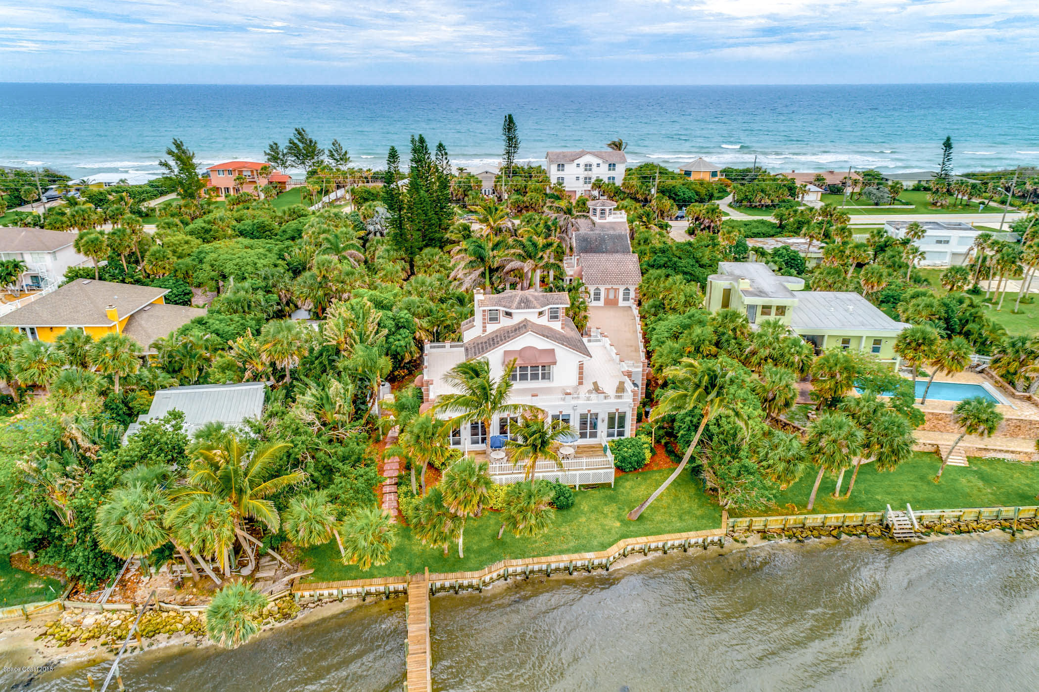 Single Family Homes for Sale at 7972 S Highway A1a Melbourne Beach, Florida 32951 United States
