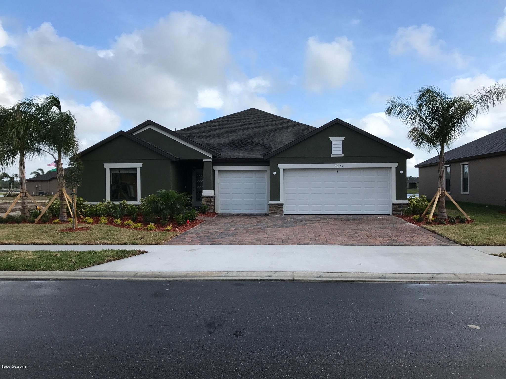 獨棟家庭住宅 為 出售 在 3375 Salt Marsh 3375 Salt Marsh West Melbourne, 佛羅里達州 32904 美國