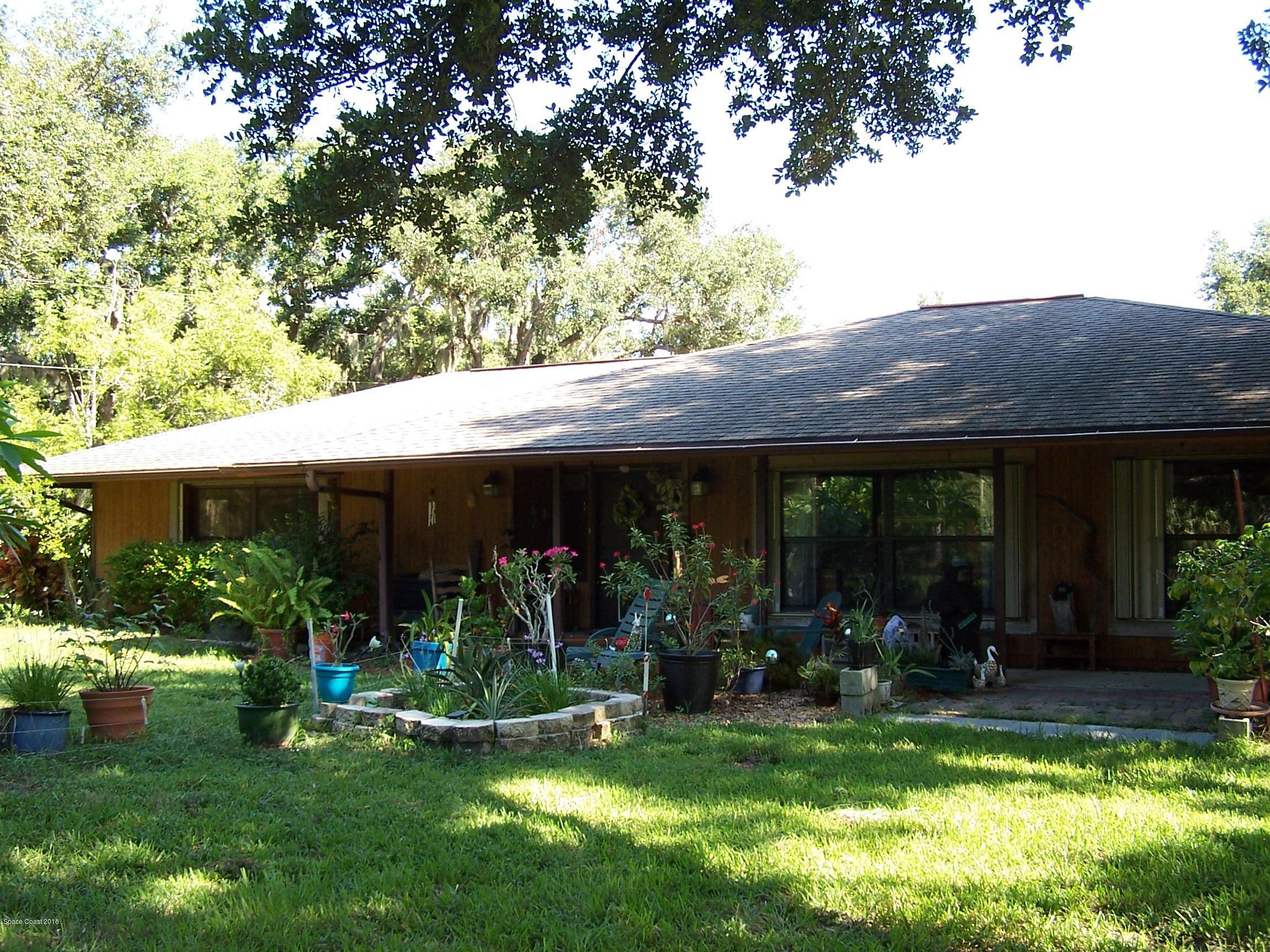 Single Family Home for Sale at 1240 Pine Island 1240 Pine Island Merritt Island, Florida 32953 United States
