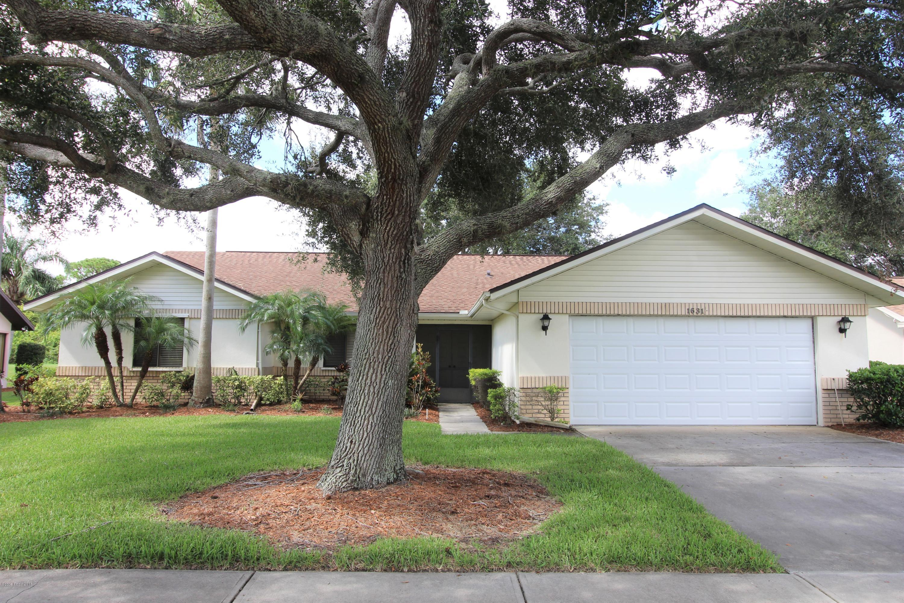 Single Family Home for Sale at 1631 Frontier 1631 Frontier Melbourne, Florida 32940 United States
