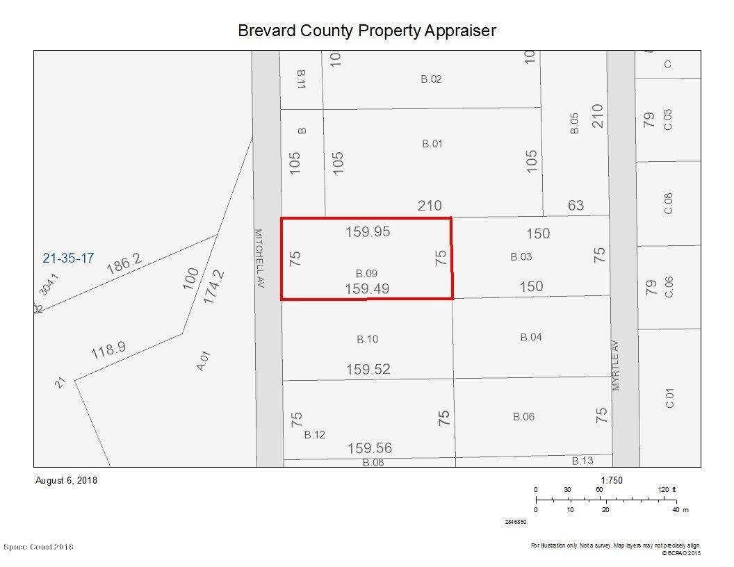 Land for Sale at Mitchell Mitchell Mims, Florida 32754 United States