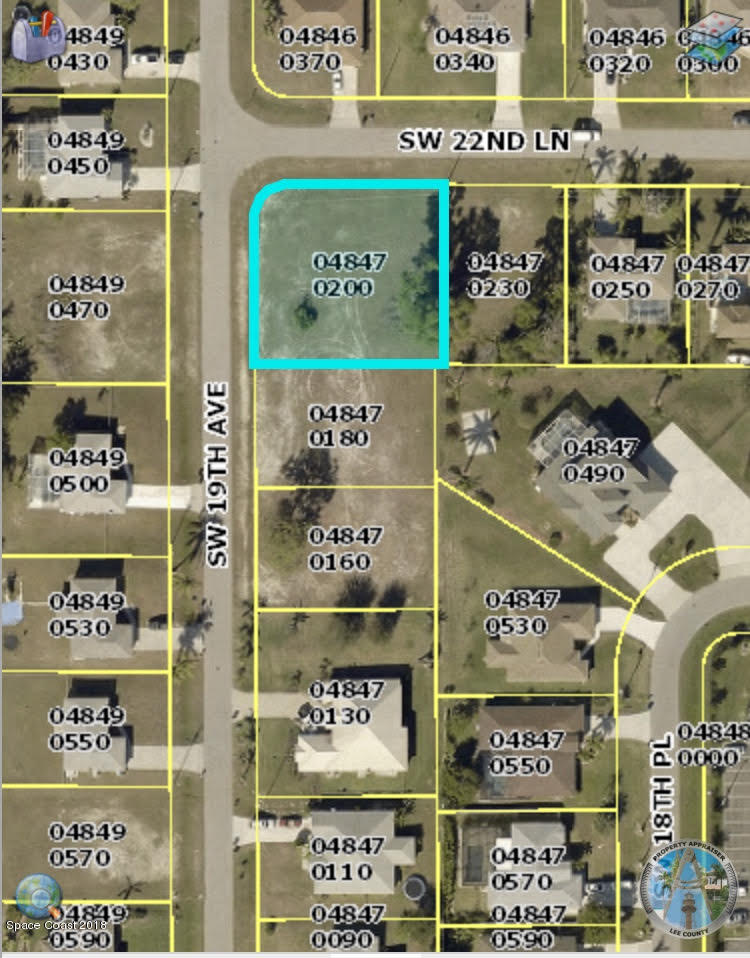 Land for Sale at 1820 SW 22nd 1820 SW 22nd Cape Coral, Florida 33991 United States