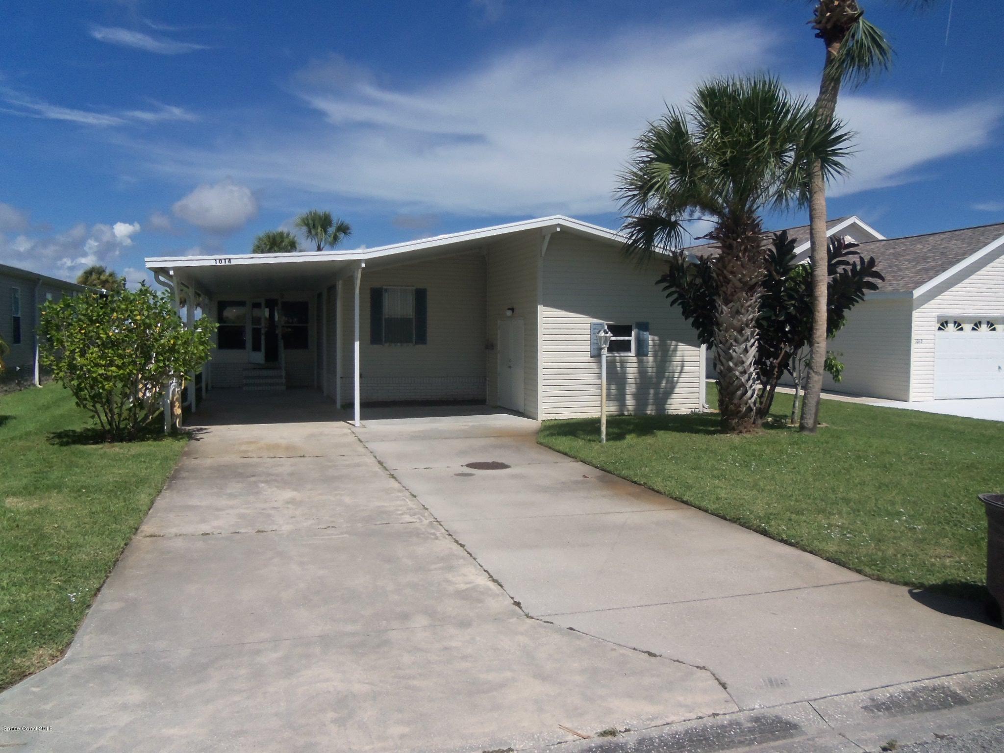 Einfamilienhaus für Verkauf beim 1014 Barefoot 1014 Barefoot Barefoot Bay, Florida 32976 Vereinigte Staaten