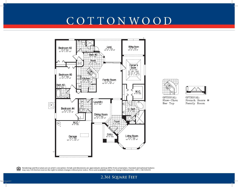 獨棟家庭住宅 為 出售 在 3259 Salt Marsh 3259 Salt Marsh West Melbourne, 佛羅里達州 32904 美國