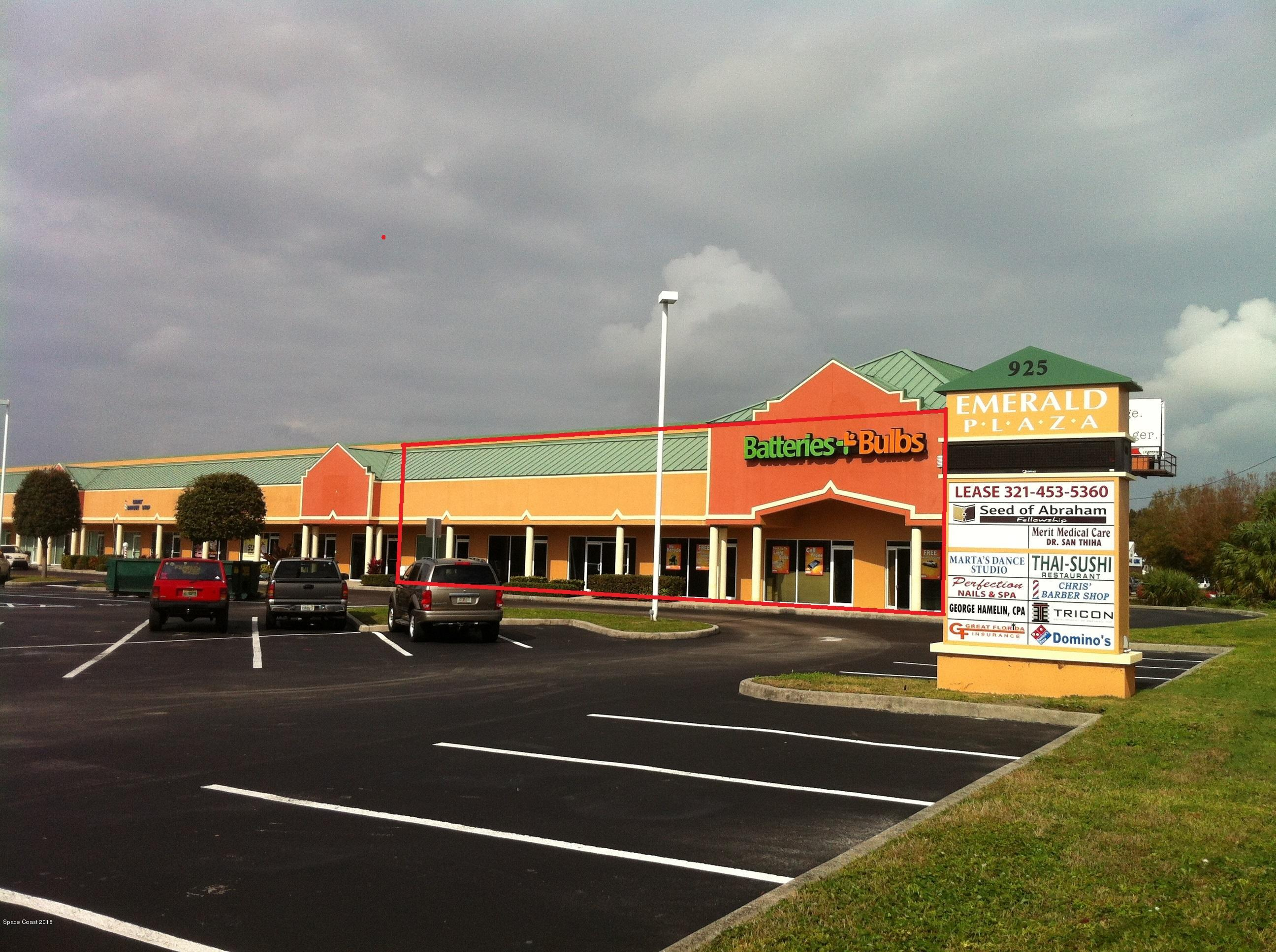 Commercial for Rent at 925 N Courtenay 925 N Courtenay Merritt Island, Florida 32953 United States