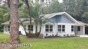 Maison unifamiliale pour l Vente à 5605 Live Oak 5605 Live Oak Melbourne Village, Florida 32904 États-Unis
