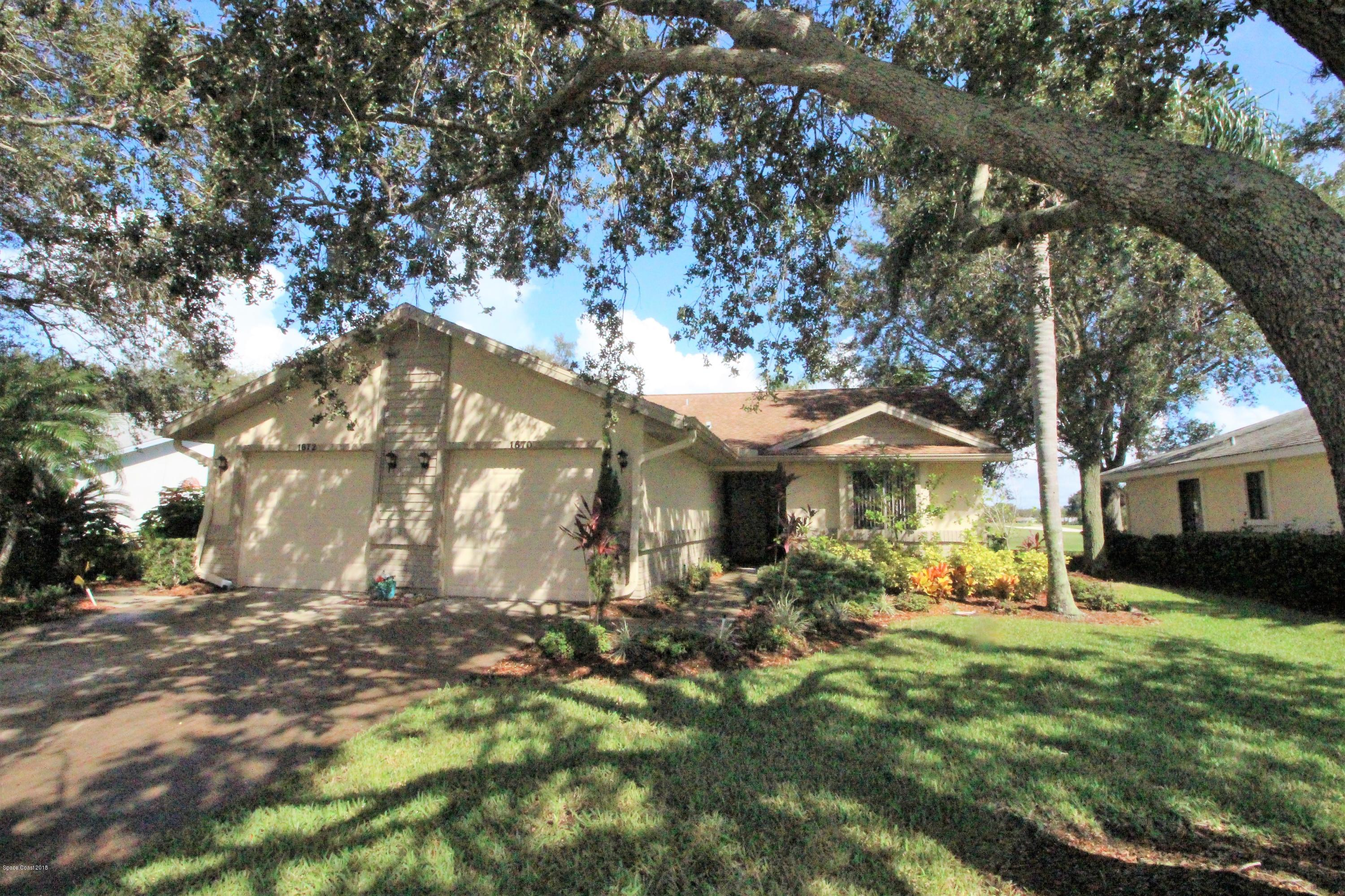 Single Family Home for Sale at 1670 Old Glory 1670 Old Glory Melbourne, Florida 32940 United States