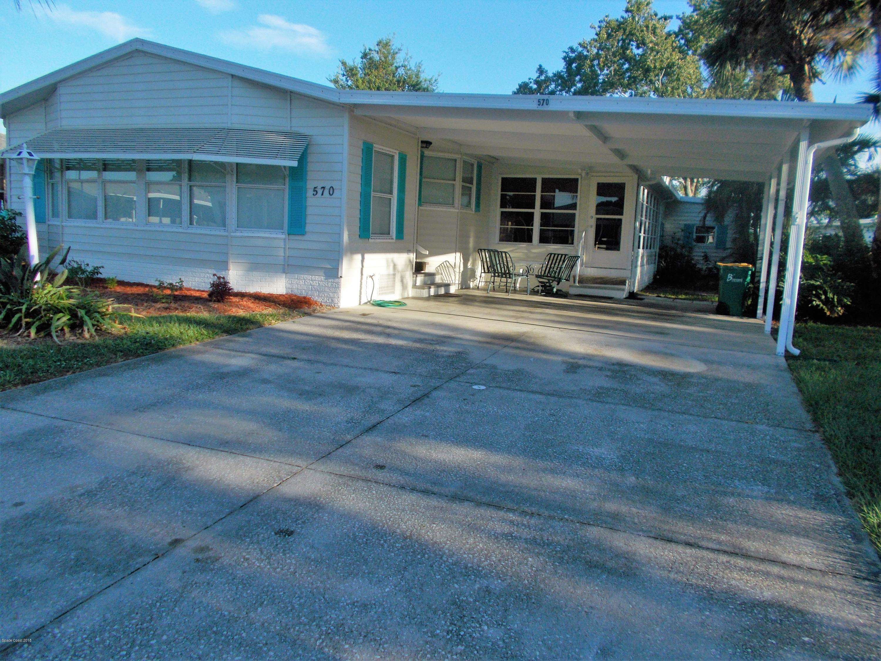 House for Sale at 570 Dolphin 570 Dolphin Barefoot Bay, Florida 32976 United States