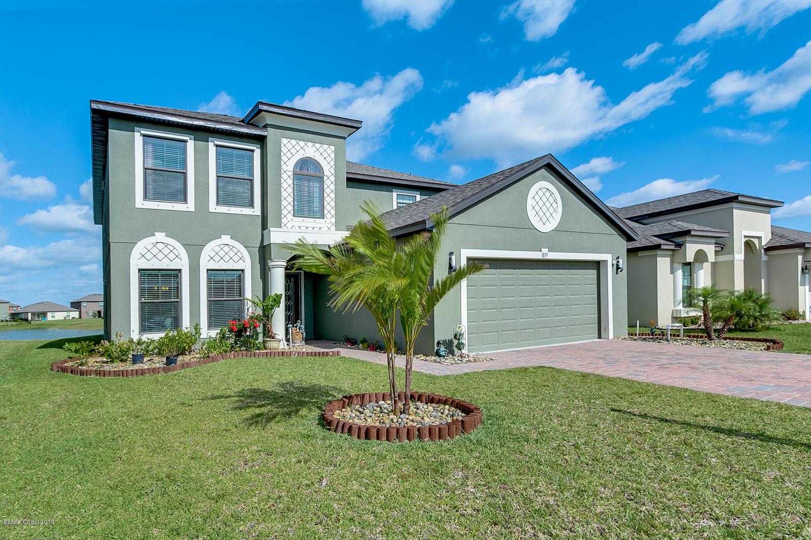 獨棟家庭住宅 為 出售 在 879 Fiddleleaf 879 Fiddleleaf West Melbourne, 佛羅里達州 32904 美國