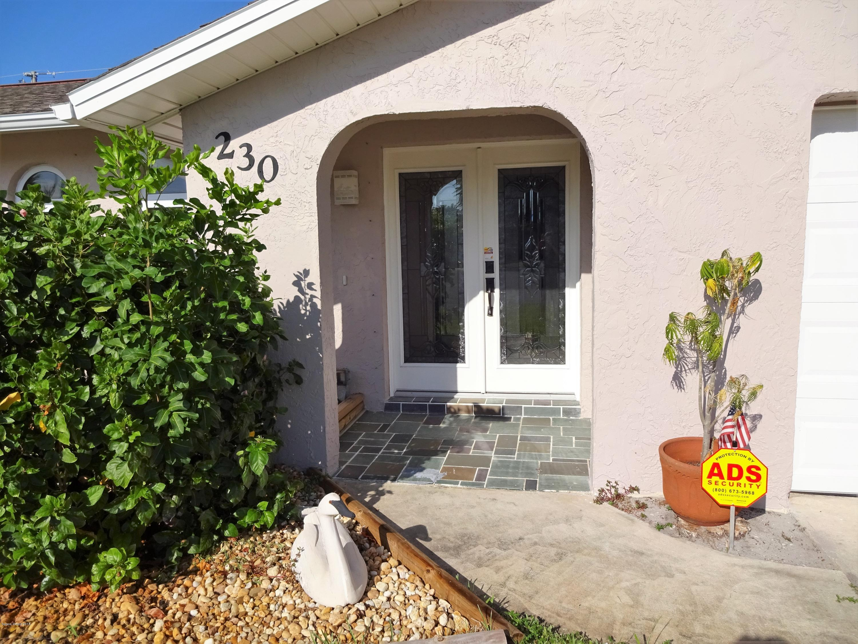 Single Family Homes for Sale at 230 Bonnie Satellite Beach, Florida 32937 United States