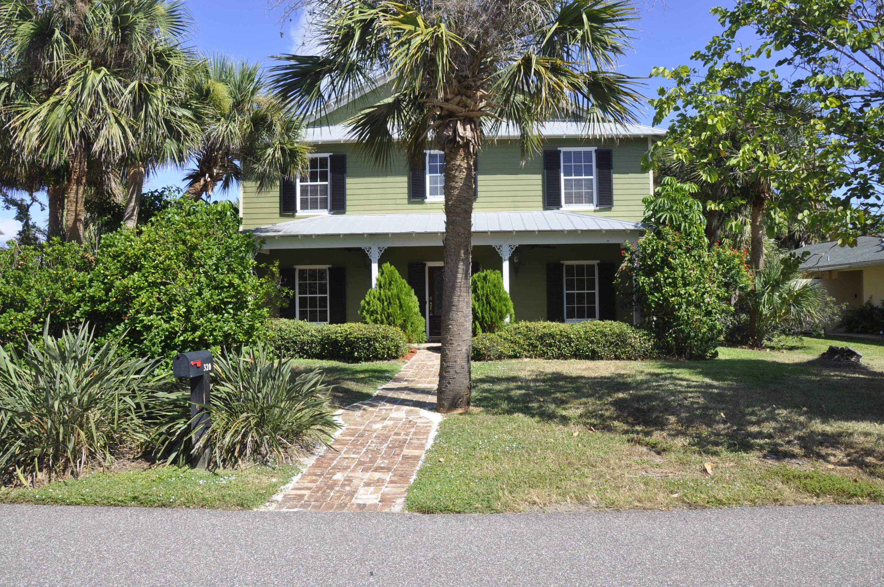 Single Family Home for Rent at 320 2nd 320 2nd Melbourne Beach, Florida 32951 United States