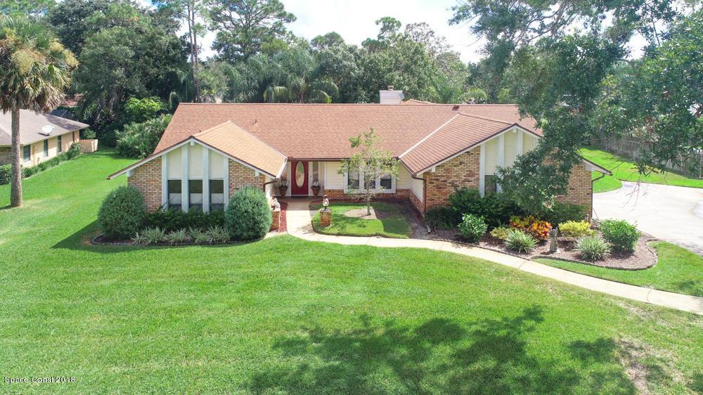 獨棟家庭住宅 為 出售 在 7916 Timberlake 7916 Timberlake West Melbourne, 佛羅里達州 32904 美國