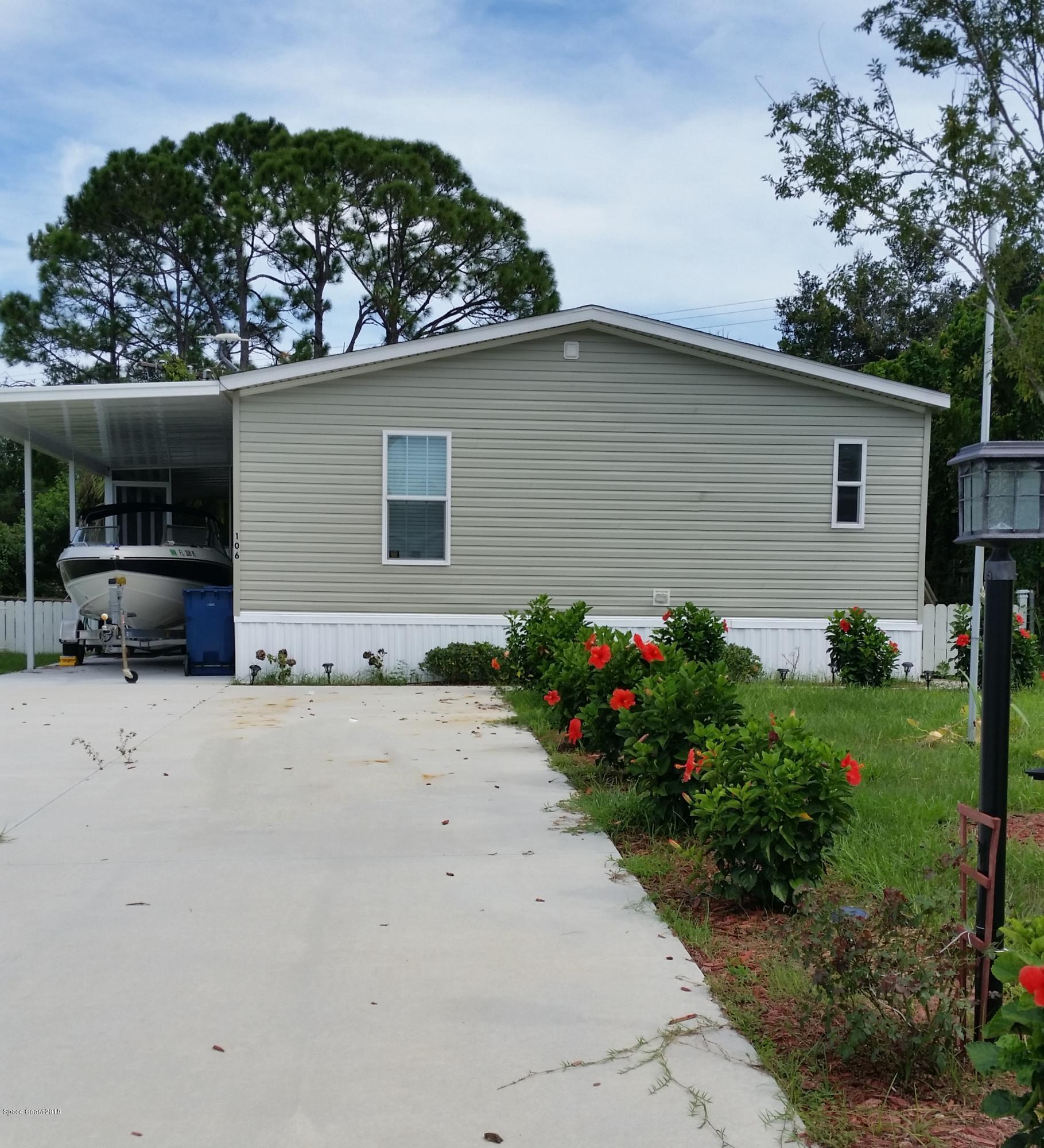 Vivienda unifamiliar por un Venta en 106 Ash 106 Ash Edgewater, Florida 32141 Estados Unidos