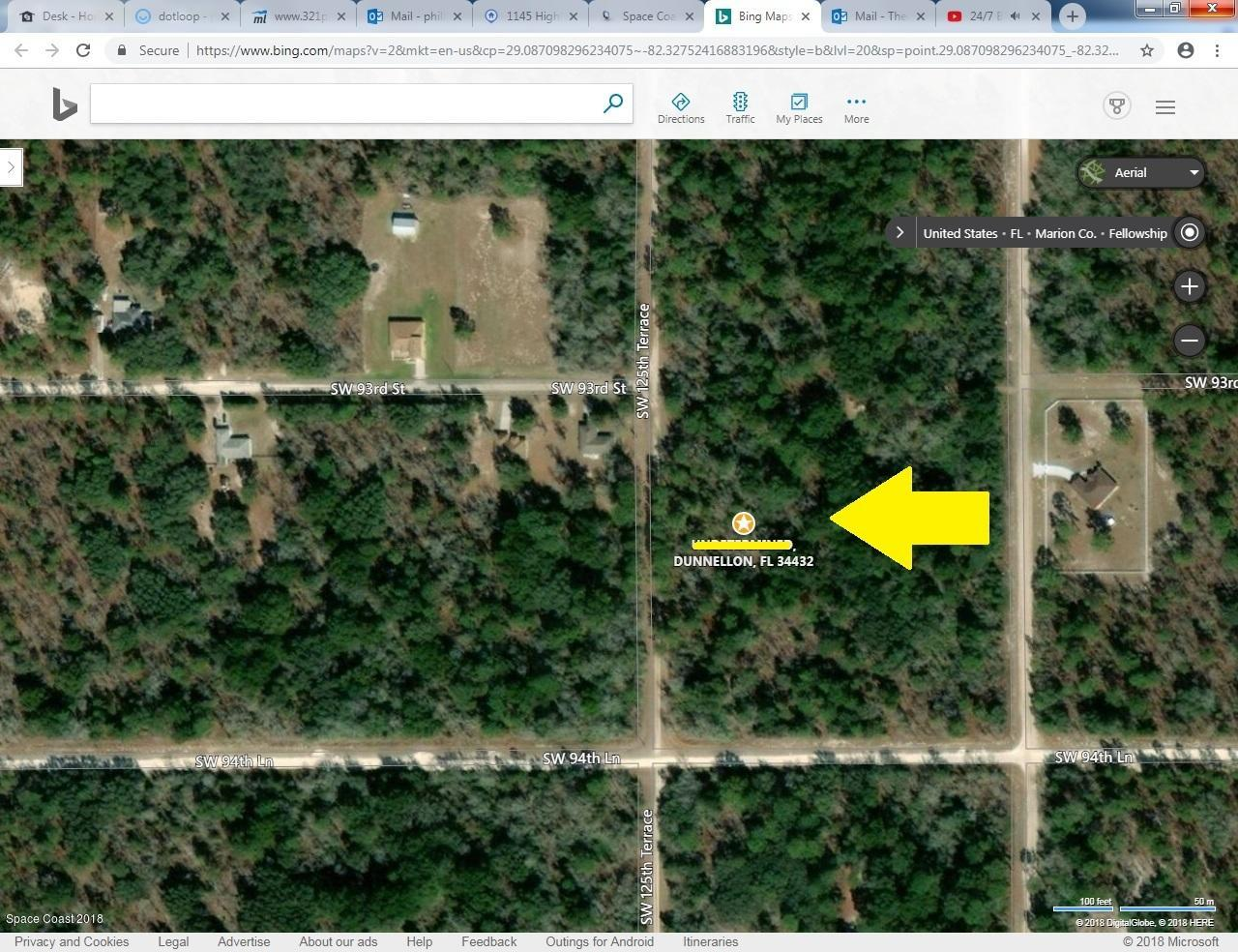 Terreno por un Venta en SW 125th Ter, Dunnelon, Fl. 34432 SW 125th Ter, Dunnelon, Fl. 34432 Dunnellon, Florida 34433 Estados Unidos