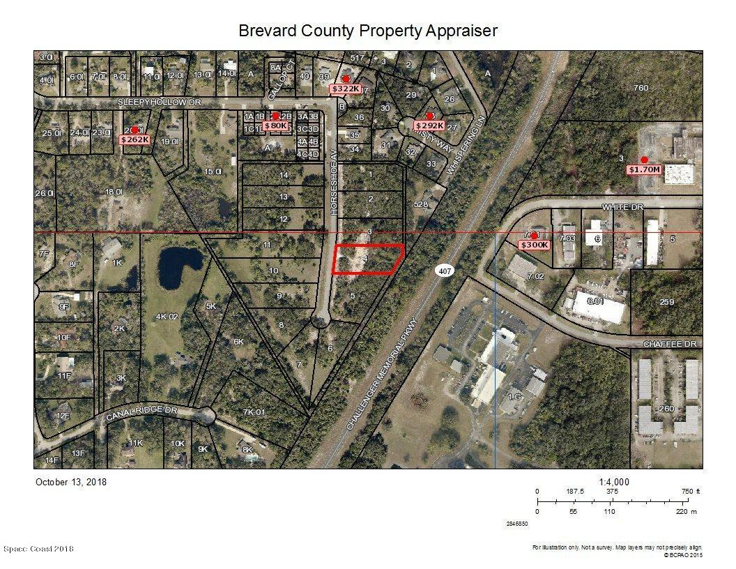 Land for Sale at 6239 Horseshoe 6239 Horseshoe Titusville, Florida 32780 United States