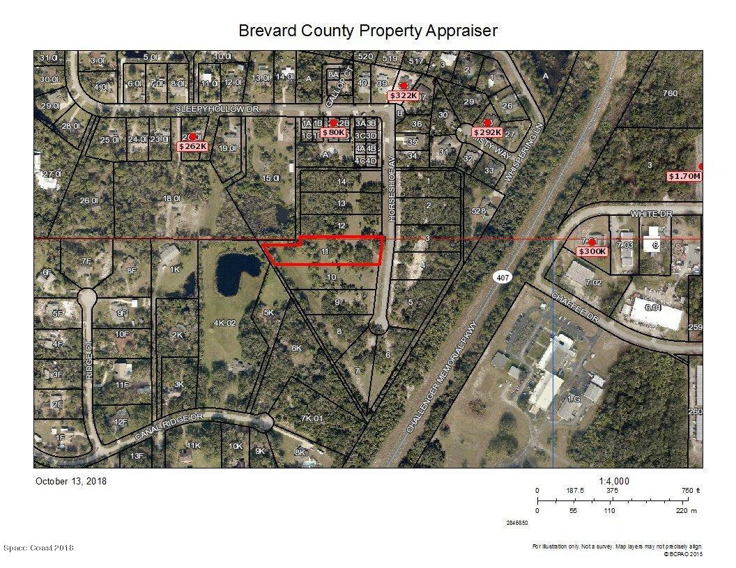 Land for Sale at 6238 Horseshoe Titusville, Florida 32780 United States