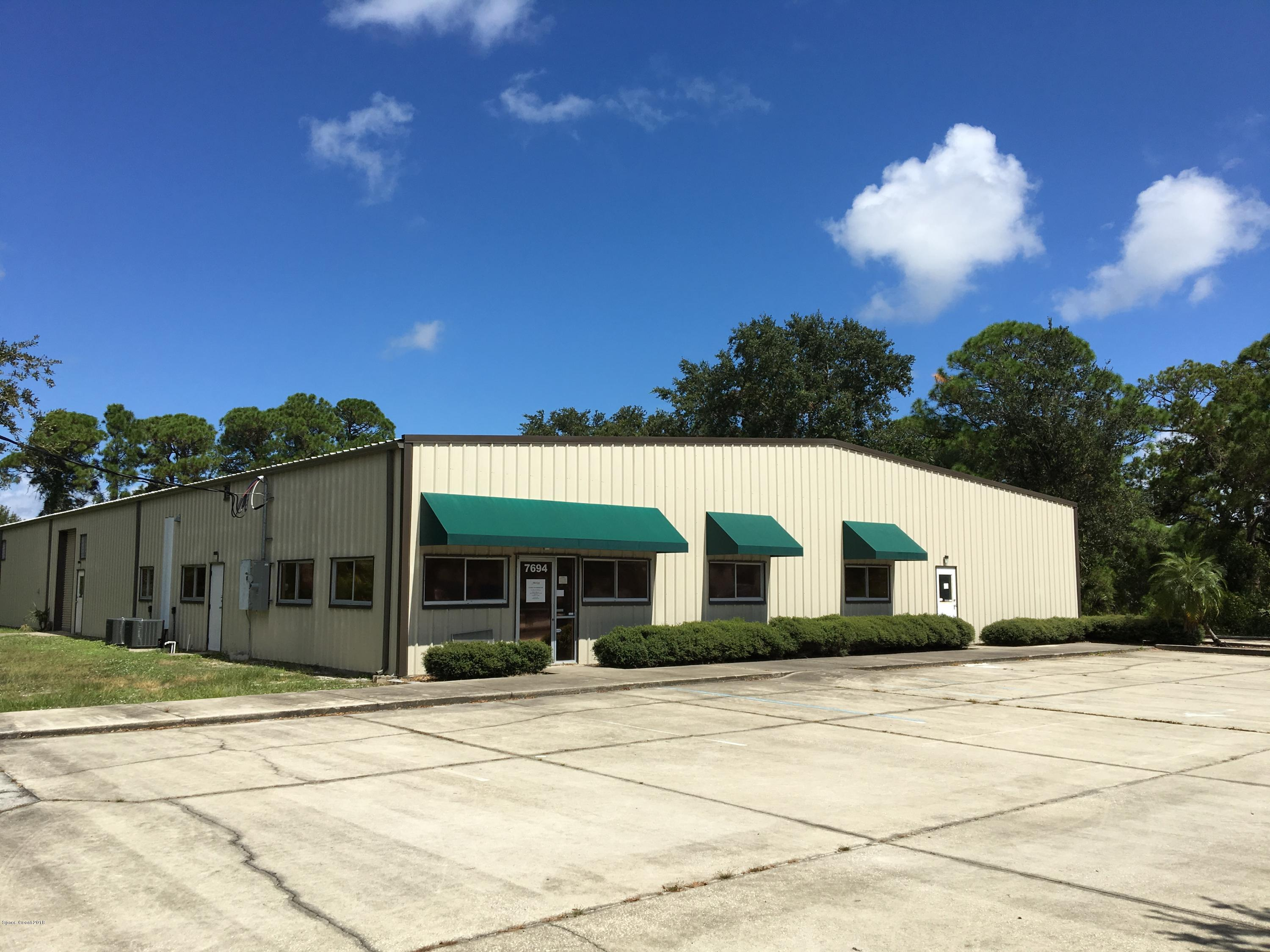 Commercial for Rent at 7694 Progress 7694 Progress West Melbourne, Florida 32904 United States