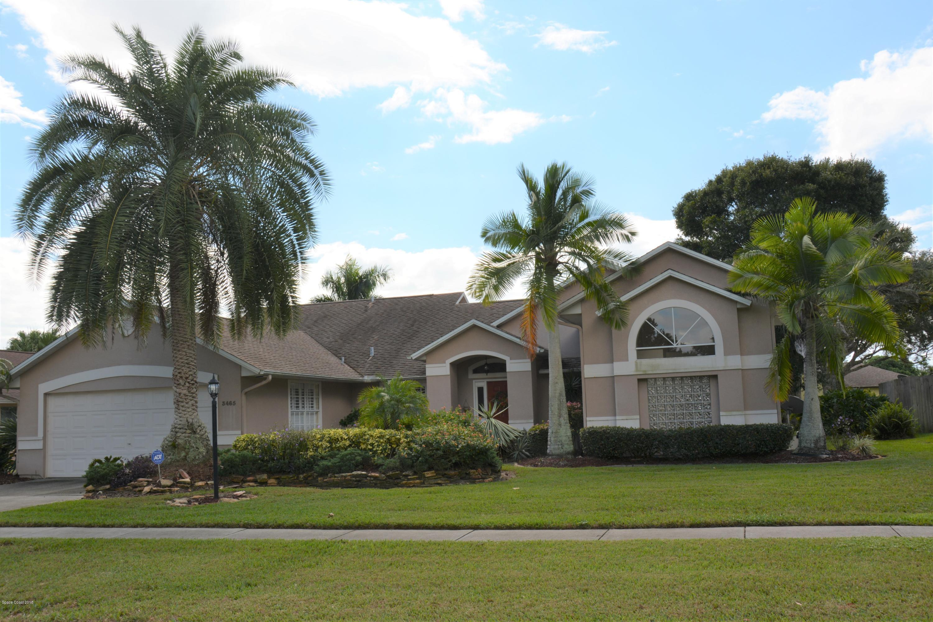 Single Family Home for Sale at 3465 Fort Sumter 3465 Fort Sumter Melbourne, Florida 32934 United States