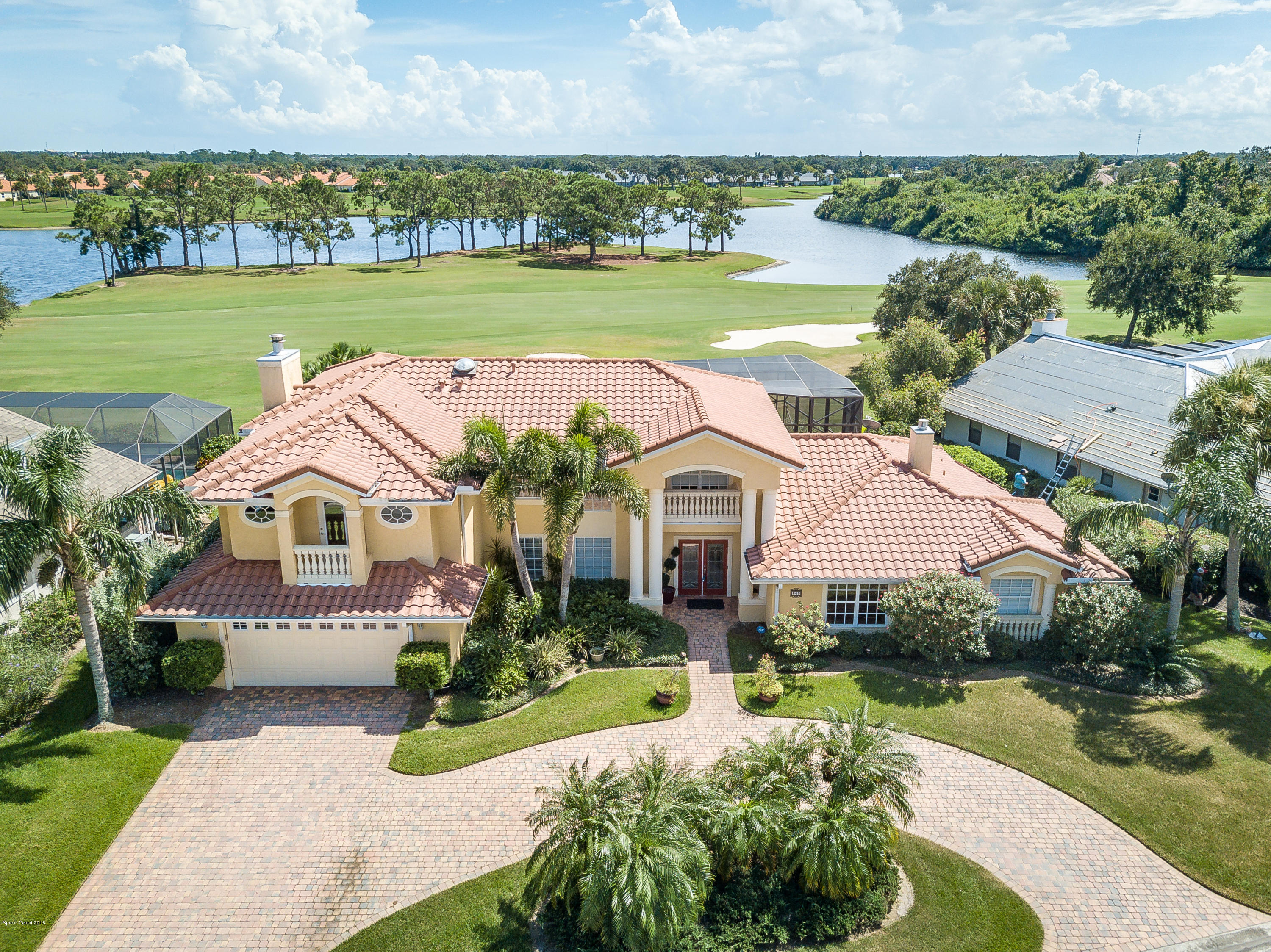 Single Family Home for Sale at 840 Kerry Downs 840 Kerry Downs Melbourne, Florida 32940 United States