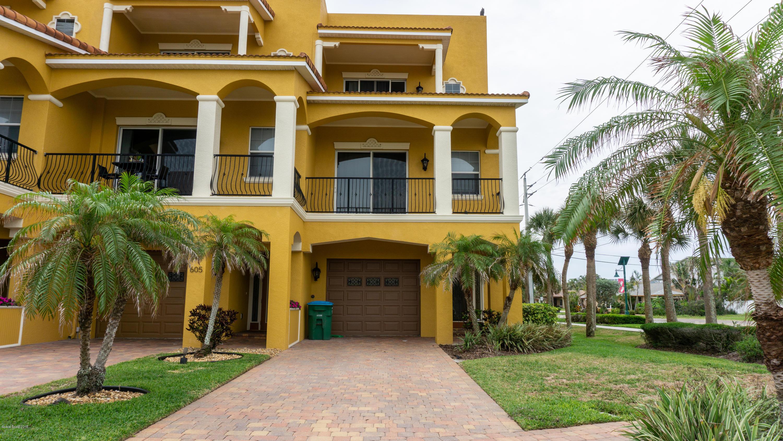 Casa para uma família para Venda às 603 Washington 603 Washington Cape Canaveral, Florida 32920 Estados Unidos