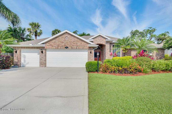 獨棟家庭住宅 為 出售 在 2372 Woodfield 2372 Woodfield West Melbourne, 佛羅里達州 32904 美國
