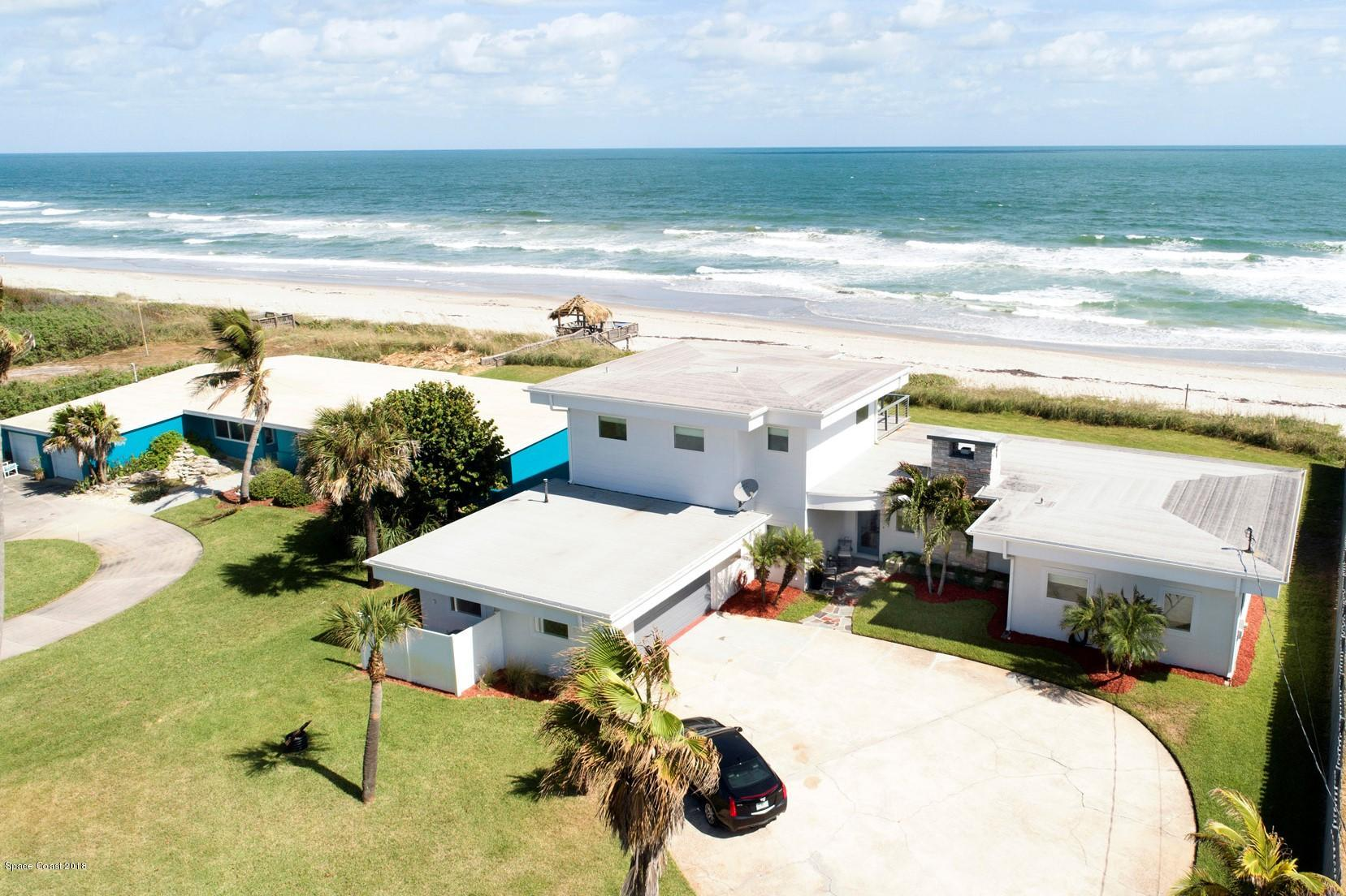 Single Family Homes for Sale at 1945 N Highway A1a Indialantic, Florida 32903 United States