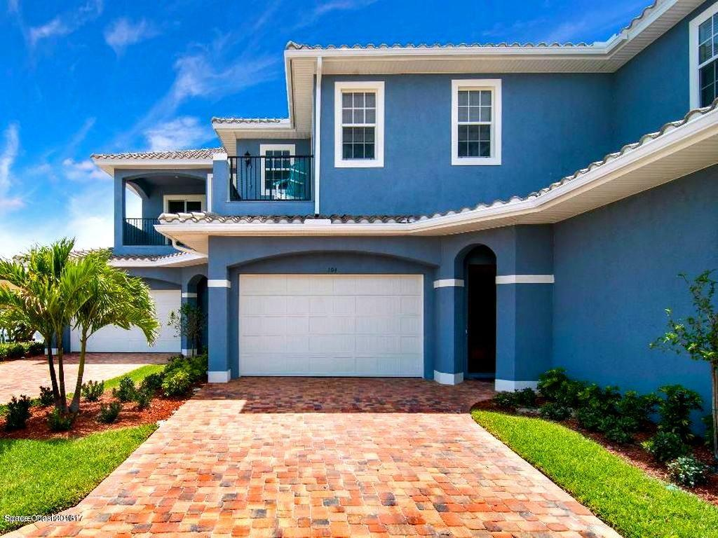 Single Family Homes for Sale at 154 Mediterranean Indian Harbour Beach, Florida 32937 United States