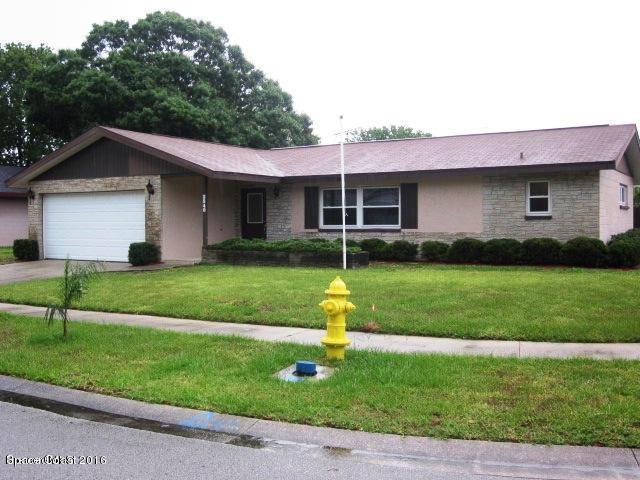Single Family Home for Rent at 2540 Quebec 2540 Quebec Melbourne, Florida 32935 United States