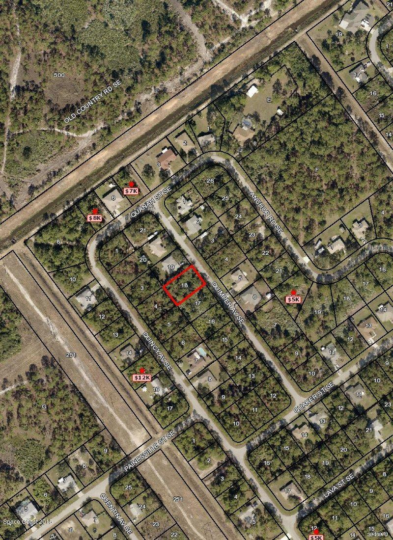 Land for Sale at 2436 Quimper 2436 Quimper Palm Bay, Florida 32909 United States
