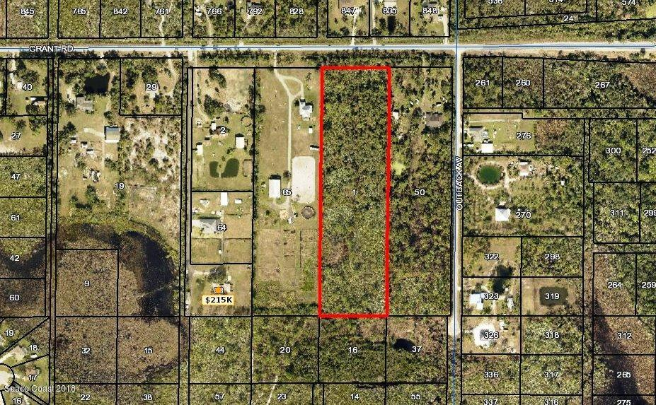 Land for Sale at Grant Grant Palm Bay, Florida 32909 United States